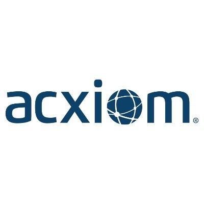The logo of Acxiom