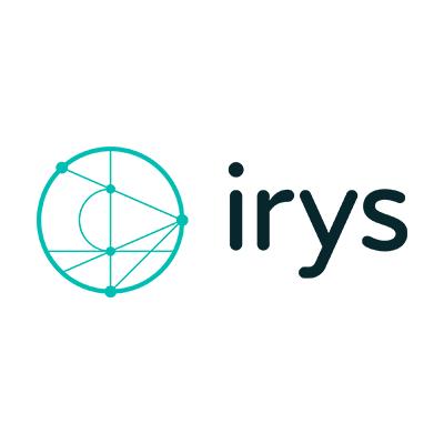 The logo of Irys