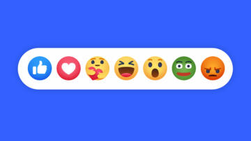 An illustration of the Facebook emojis but with an added Pepe The Frog emoji