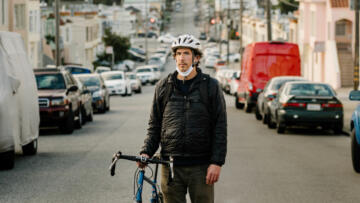 A photo of Benjamin Safer, a Postmates Courier who fell victim to a scam, in San Francisco