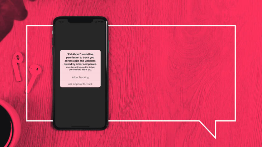 Image of a phone screen with a sample opt-out message