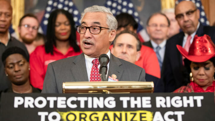 A photo of Rep. Bobby Scott, House Education and Labor Committee chair author of the PRO Act