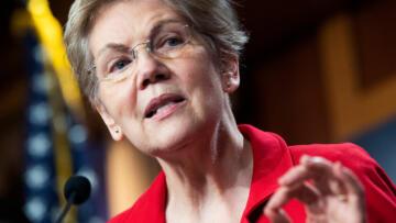 A photo of Massachusetts Senator Elizabeth Warren