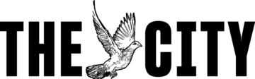 The logo for The City, An independent, nonprofit newsroom for New York